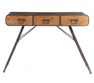 Meuble console de style industriel vintage - Devis sur Techni-Contact.com - 1