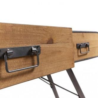 Meuble console de style industriel vintage - Devis sur Techni-Contact.com - 2