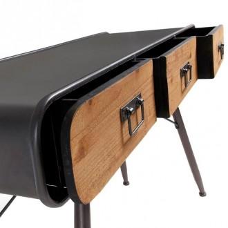 Meuble console de style industriel vintage - Devis sur Techni-Contact.com - 3