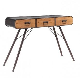 Meuble console de style industriel vintage - Devis sur Techni-Contact.com - 4