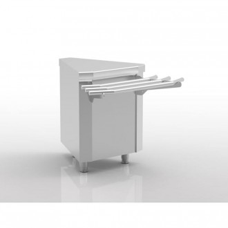 Meuble d'angle self-service - Devis sur Techni-Contact.com - 1
