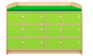 Meuble de déshabillage 12 casiers - Devis sur Techni-Contact.com - 2