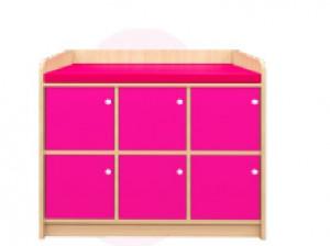 Meuble de déshabillage 6 casiers - Devis sur Techni-Contact.com - 2