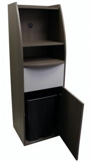 Meuble de poubelle en bois pour snack - Devis sur Techni-Contact.com - 2