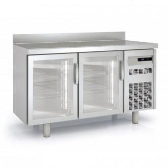 Meuble frigorifique vitré à pieds réglables - Devis sur Techni-Contact.com - 1