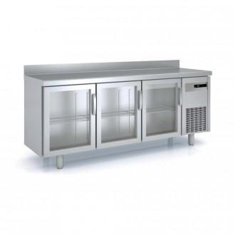 Meuble frigorifique vitré à pieds réglables - Devis sur Techni-Contact.com - 2