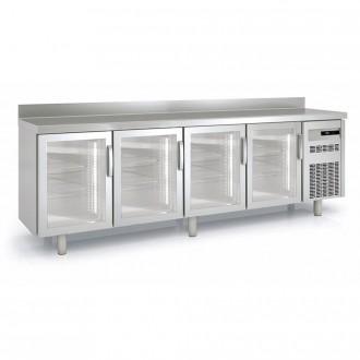 Meuble frigorifique vitré à pieds réglables - Devis sur Techni-Contact.com - 3