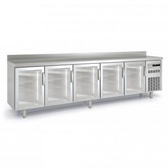 Meuble frigorifique vitré à pieds réglables - Devis sur Techni-Contact.com - 4