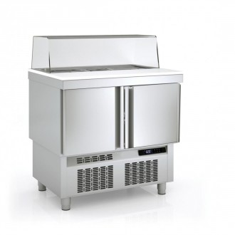 Meuble froid saladette - Devis sur Techni-Contact.com - 1