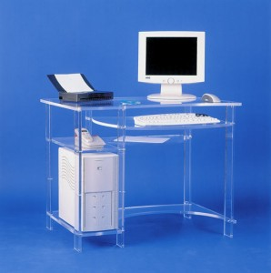 Meuble informatique plexiglas - Devis sur Techni-Contact.com - 3