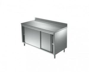 Meuble inox portes coulissantes  - Devis sur Techni-Contact.com - 2