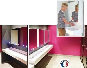 Meuble miroir avec robinet électronique - Devis sur Techni-Contact.com - 1
