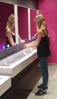Meuble miroir avec robinet électronique - Devis sur Techni-Contact.com - 2