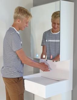 Meuble miroir avec robinet électronique - Devis sur Techni-Contact.com - 4
