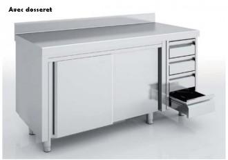 Meuble neutre avec portes et tiroirs - Devis sur Techni-Contact.com - 1