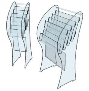 Meuble présentoir 4 étages - Devis sur Techni-Contact.com - 2