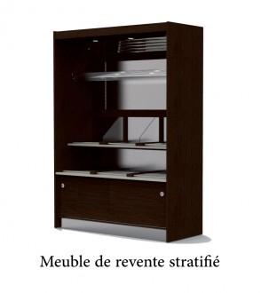 Meuble présentoir haut pour pain - Devis sur Techni-Contact.com - 1