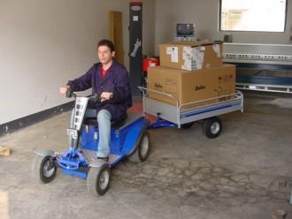 Micro tracteur autoporté avec remorque - Devis sur Techni-Contact.com - 2