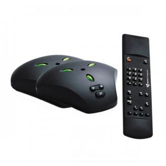 Micros supplémentaires audioconférence avec télécommande - Devis sur Techni-Contact.com - 1