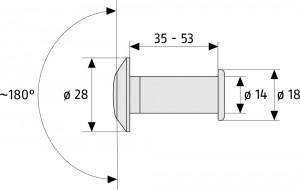 Microviseur porte - Devis sur Techni-Contact.com - 4