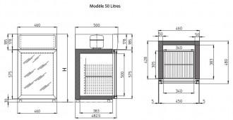 Mini frigo à porte vitrée - Devis sur Techni-Contact.com - 4