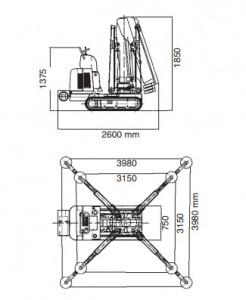 Mini grue de levage  2050 Kg - Devis sur Techni-Contact.com - 3