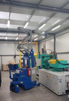 Mini grue industrielle 2000 kg - Devis sur Techni-Contact.com - 2