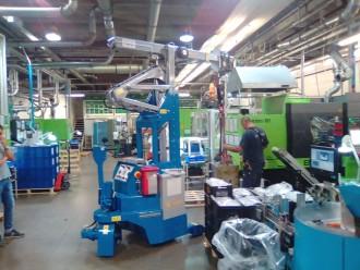Mini grue industrielle 2000 kg - Devis sur Techni-Contact.com - 4