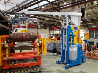 Mini grue industrielle 2000 kg - Devis sur Techni-Contact.com - 6