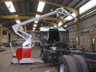 Mini grue industrielle 3000 kg - Devis sur Techni-Contact.com - 4