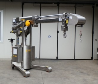 Mini grue industrielle 3000 kg - Devis sur Techni-Contact.com - 6