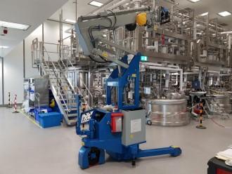 Mini grue industrielle 3000 kg - Devis sur Techni-Contact.com - 7