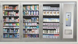 Mini market à casiers - Devis sur Techni-Contact.com - 3