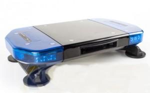 Mini rampe led avec sirène et HP 100W intégrés - Devis sur Techni-Contact.com - 1