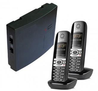 Mini-standard sans fil avec 2 combinés Gigaset - Devis sur Techni-Contact.com - 1