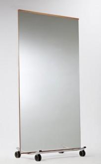 Miroir amovible rectangulaire pour salle de sport - Devis sur Techni-Contact.com - 1