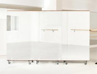 Miroir amovible rectangulaire pour salle de sport - Devis sur Techni-Contact.com - 4