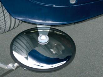 Miroir d'inspection avec perche télescopique - Devis sur Techni-Contact.com - 2