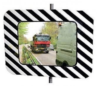 Miroir de circulation réglementaire routière - Devis sur Techni-Contact.com - 1