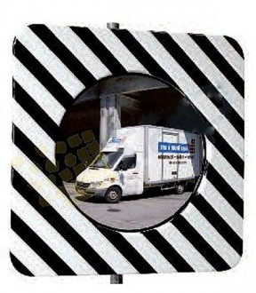 Miroir de circulation réglementaire routière - Devis sur Techni-Contact.com - 2