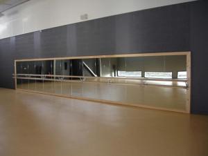 Miroir de danse hauteur 1.80 m - Devis sur Techni-Contact.com - 2
