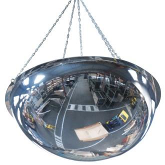 Miroir de sécurité 1/2 sphère incassable - Devis sur Techni-Contact.com - 1