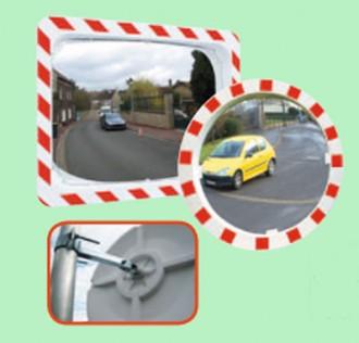 Miroir de sécurité 2 directions - Devis sur Techni-Contact.com - 1