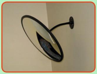 Miroir de sécurité 2 directions - Devis sur Techni-Contact.com - 2