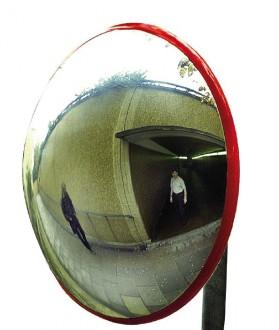 Miroir de sécurité extérieur en polycarbonate - Devis sur Techni-Contact.com - 1