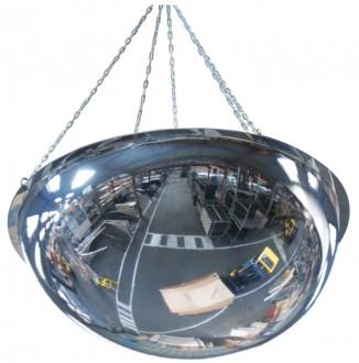 Miroir de sécurité industrielle à suspendre - Devis sur Techni-Contact.com - 1