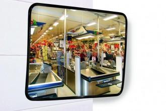 Miroir de sécurité industrielle en inox - Devis sur Techni-Contact.com - 3