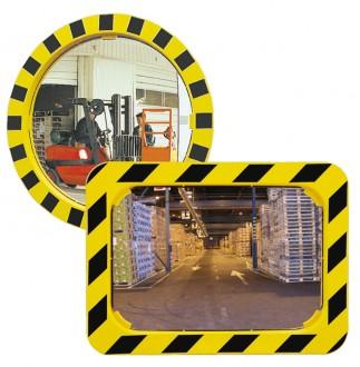 Miroir de sécurité industrielle en P.A.S - Devis sur Techni-Contact.com - 1