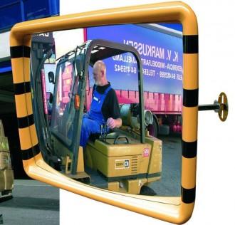 Miroir de sécurité industrielle Intérieur - Devis sur Techni-Contact.com - 4