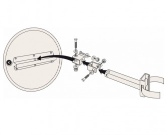Miroir de sécurité pour deux roues - Devis sur Techni-Contact.com - 6